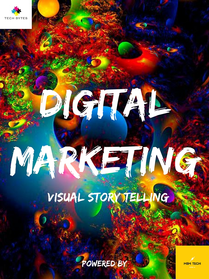 Digital Marketing - Power of Visual Story Telling - For 13 - 21 years Old image