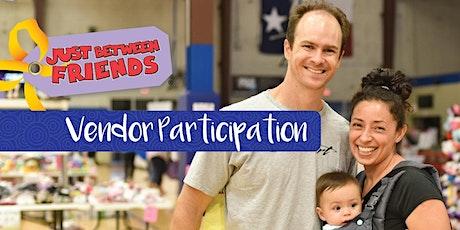 Vendor Participation- Fall 2020 JBF Williamson County tickets