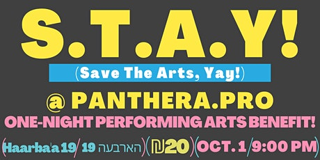 S.T.A.Y! (Save The Arts, Yay!) @ Panthera! - Performing Arts Benefit tickets