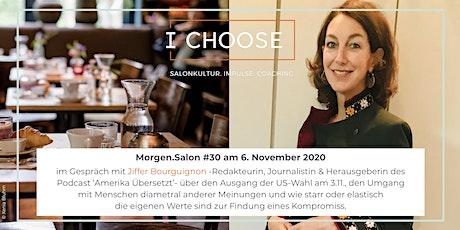 Morgen.Salon #30 im Gespräch mit Journalistin Jiffer Bourguignon