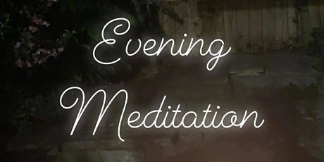 Weekly Online Evening Meditation tickets