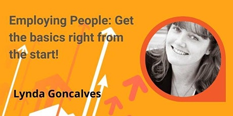 Employing People: Get the basics right from the start tickets