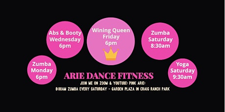 VIRTUAL GROUP DANCE FITNESS tickets
