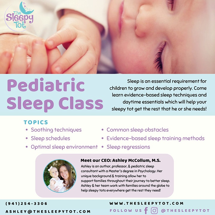 Online Sleep Seminar for Expectant Parents image