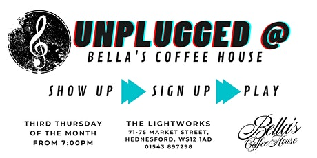 Bella's Unplugged tickets