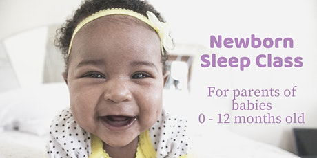 Newborn & Infant Sleep Class tickets