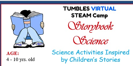Virtual STEAM Class- Storybook Science September 8- October 1 (Twice/Week) tickets