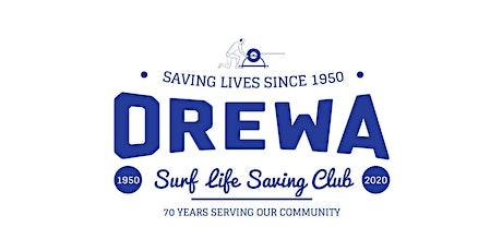 Orewa Surf Lifesaving Clubs 70th reunion event tickets
