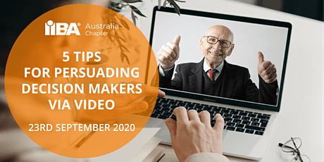Five tips for persuading decision-makers via video tickets