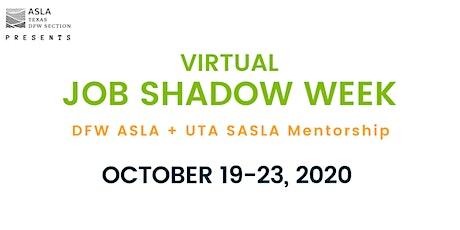 Virtual Job Shadow Week tickets