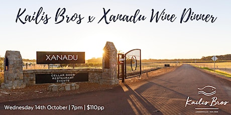 Kailis Bros x Xanadu Wine Dinner tickets