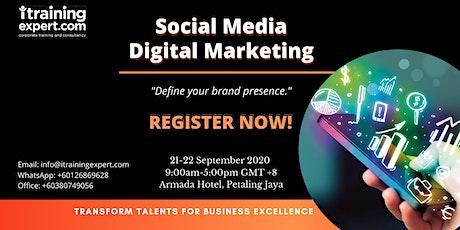 Social Media Digital Marketing tickets