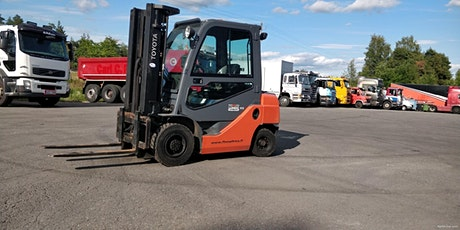 Forklift Certification (Afternoon) tickets