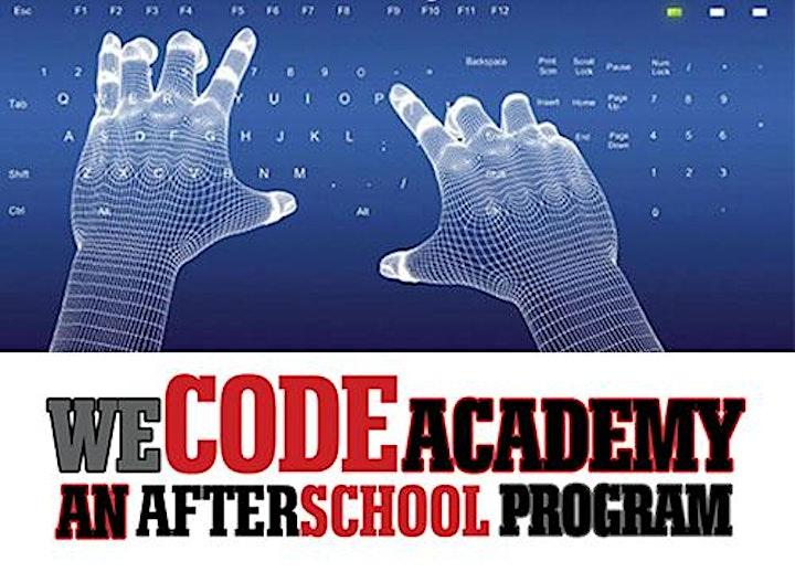 WeCodeAcademy™ Virtual After-School Program image