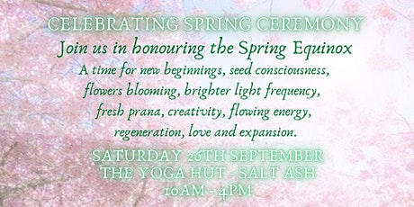 Celebrating Spring Ceremony tickets