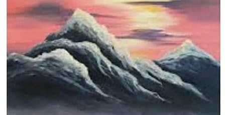 Paint Night at Retro  Mountains painting SEP 23rd 7pm tickets