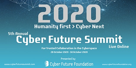 5th Annual Cyber Future Summit 2020 tickets