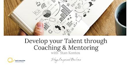 Masterclass Series | Develop your Talent through Coaching & Mentoring tickets