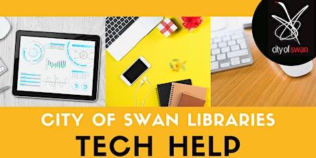 City of Swan Libraries Tech Help (Wednesdays)