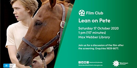 Film Club: Lean on Pete tickets