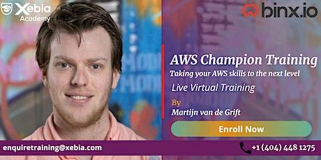 AWS Champion - Virtual tickets