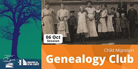 Genealogy Club: Child Migration tickets