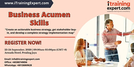 Business Acumen Skills tickets