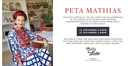 An afternoon with Peta Mathias tickets