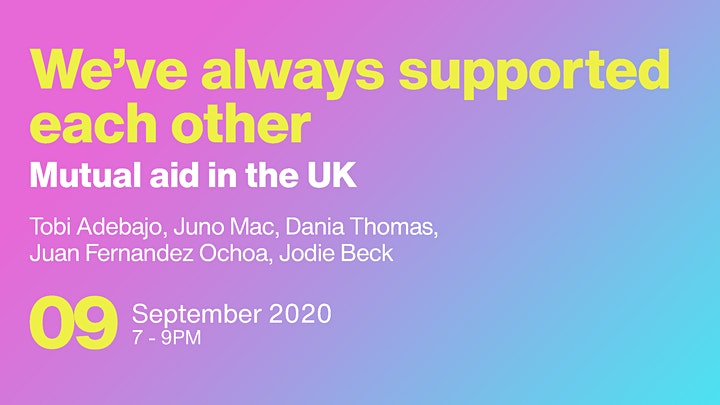 We've Always Supported Each Other: Mutual-Aid in the UK image