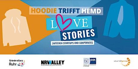 Hoodie trifft Hemd - Lovestory zwischen Startups und Corporates Tickets