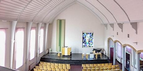 Kerkdienst voor alle wijken ochtend 20 september, Afscheid Wim en Ria tickets