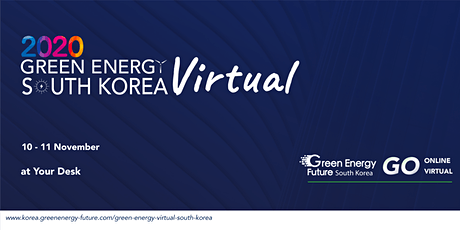 Green Energy Virtual  South Korea (GEVSK) 2020 tickets