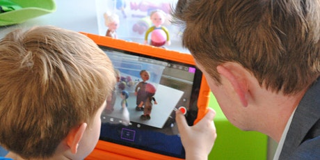 Digitale Kunst: Familien Workshop - Wir erstellen einen Film Tickets