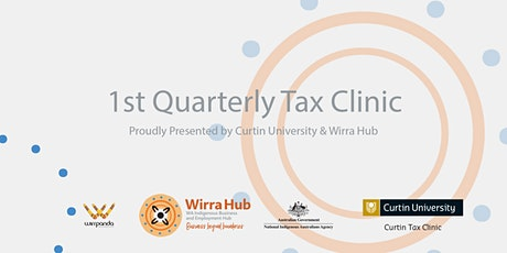 1st Quarterly Tax Clinic tickets