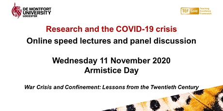 Research and the COVID-19 crisis – Armistice Day tickets
