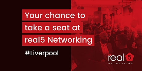 real5 Networking Liverpool tickets
