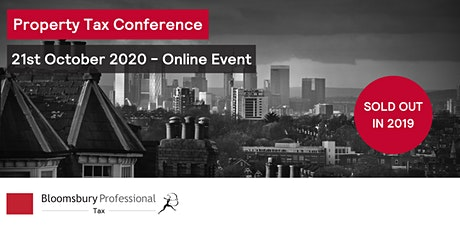 Bloomsbury Professional: Property Tax Conference tickets