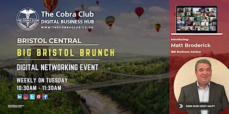 Big Bristol Brunch - Online Networking Event - The Greater Bristol Area tickets