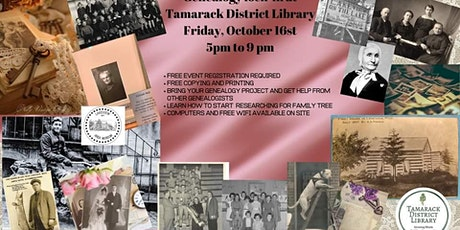 Canceled Genealogy Lock-in Rescheduled to October 16th tickets