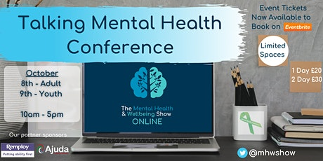 Talking Mental Health Online Conference (Adult & Youth) - MHW Online tickets