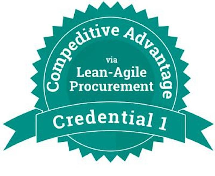 Lean-Agile Procurement - Competitive Advantage (Credential 1) image