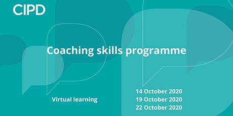 Coaching skills programme tickets