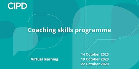 Coaching skills programme tickets