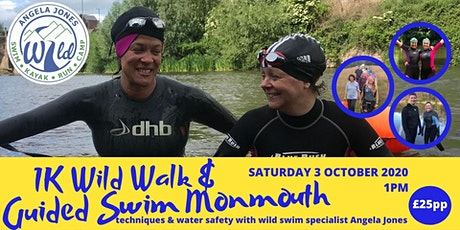 1K Wild Walk & Guided Swim (Monmouth) tickets
