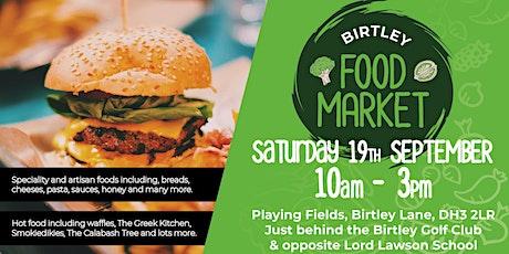Birtley Food Market - October tickets