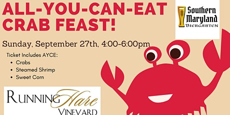 All You Can Eat Crab Feast- 27th tickets