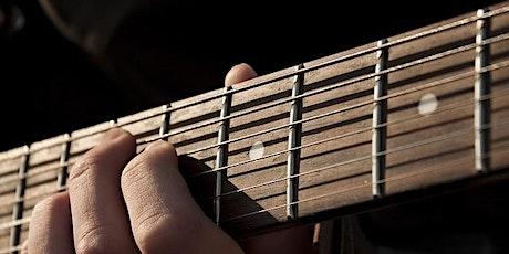 Cour de guitare intermédiaire en ligne billets