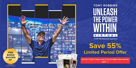 Tony Robbins Unleash the Power Within - UPW Birmingham 2020 - Virtual Event tickets