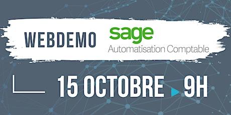 Webdemo SAGE Automatisation Comptable billets