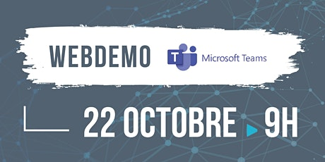 Webdemo Microsoft Teams billets